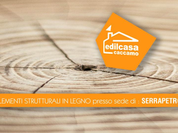 Lavorazioni elementi strutturali in legno