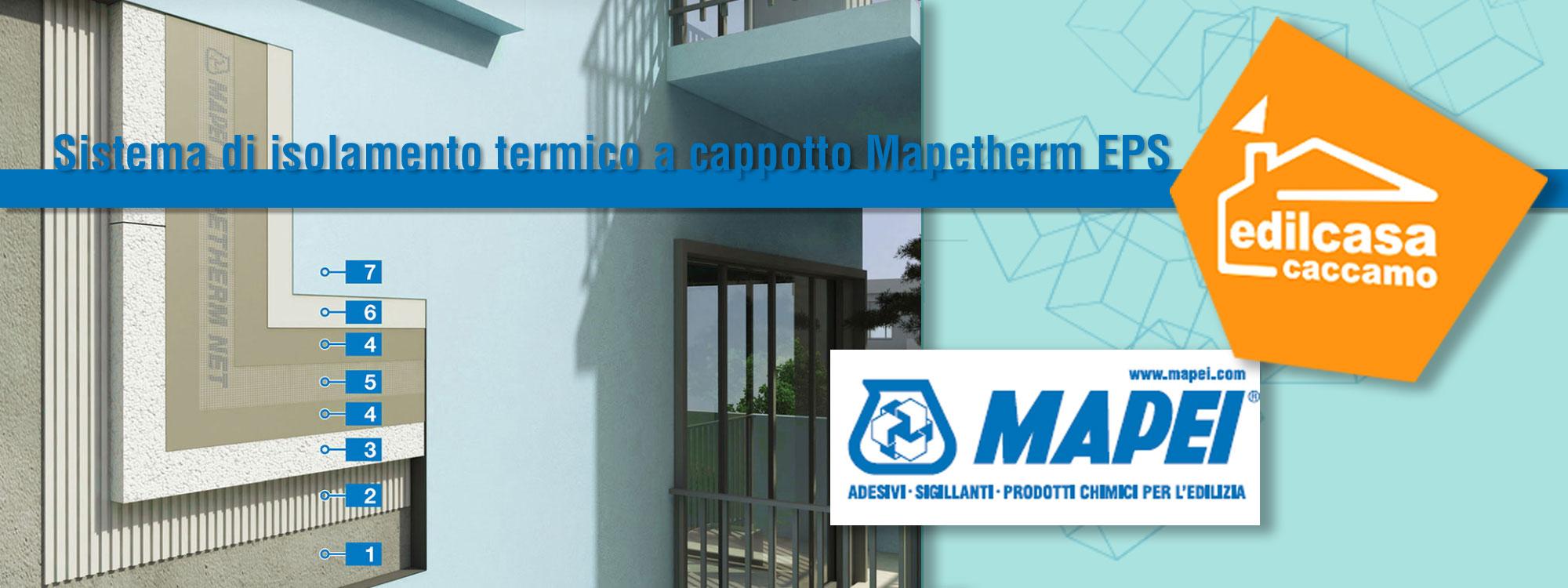 Sistema di isolamento termico a cappotto mapei mapetherm eps arredo bagno materiali edili - Malta a novembre bagno ...